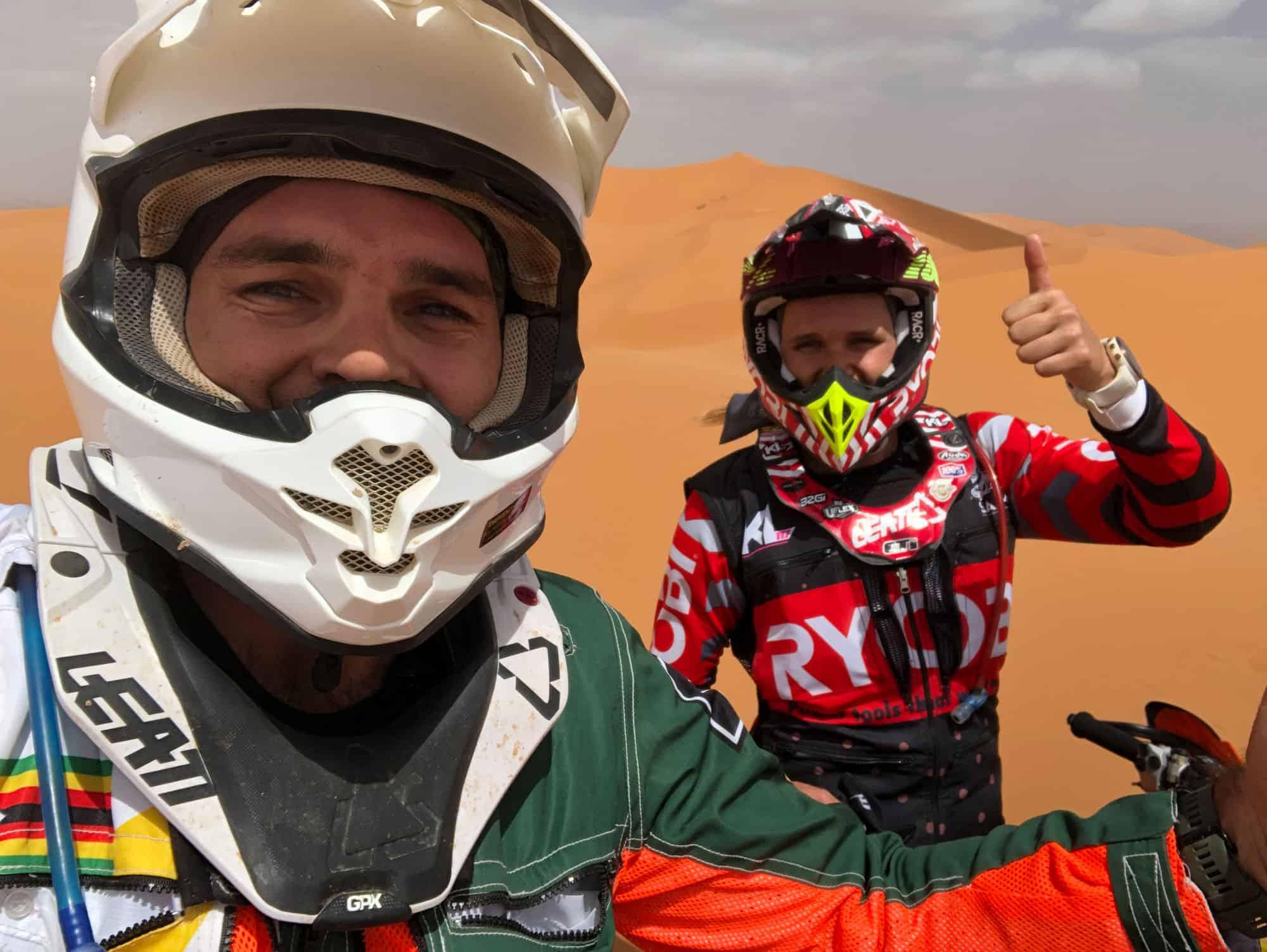 Graeme Sharp Dakar 2020