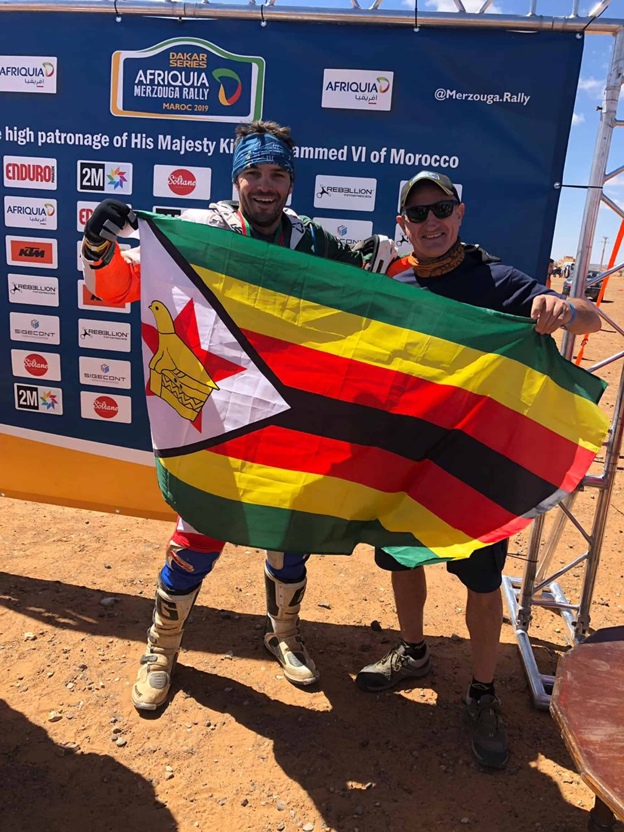 Zimbabwe Dakar Rider
