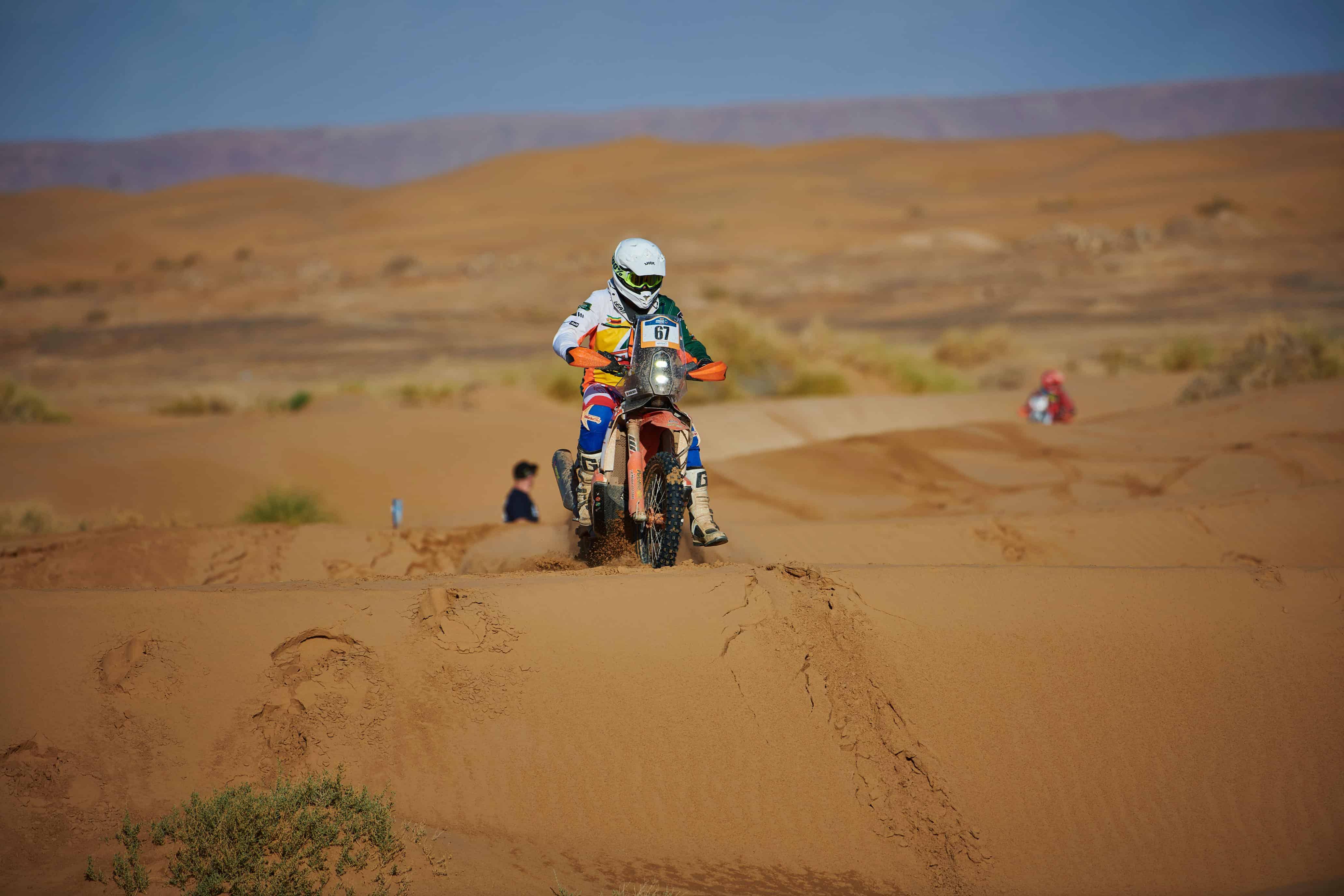 Zimbabwean Dakar Rally Contender 2020