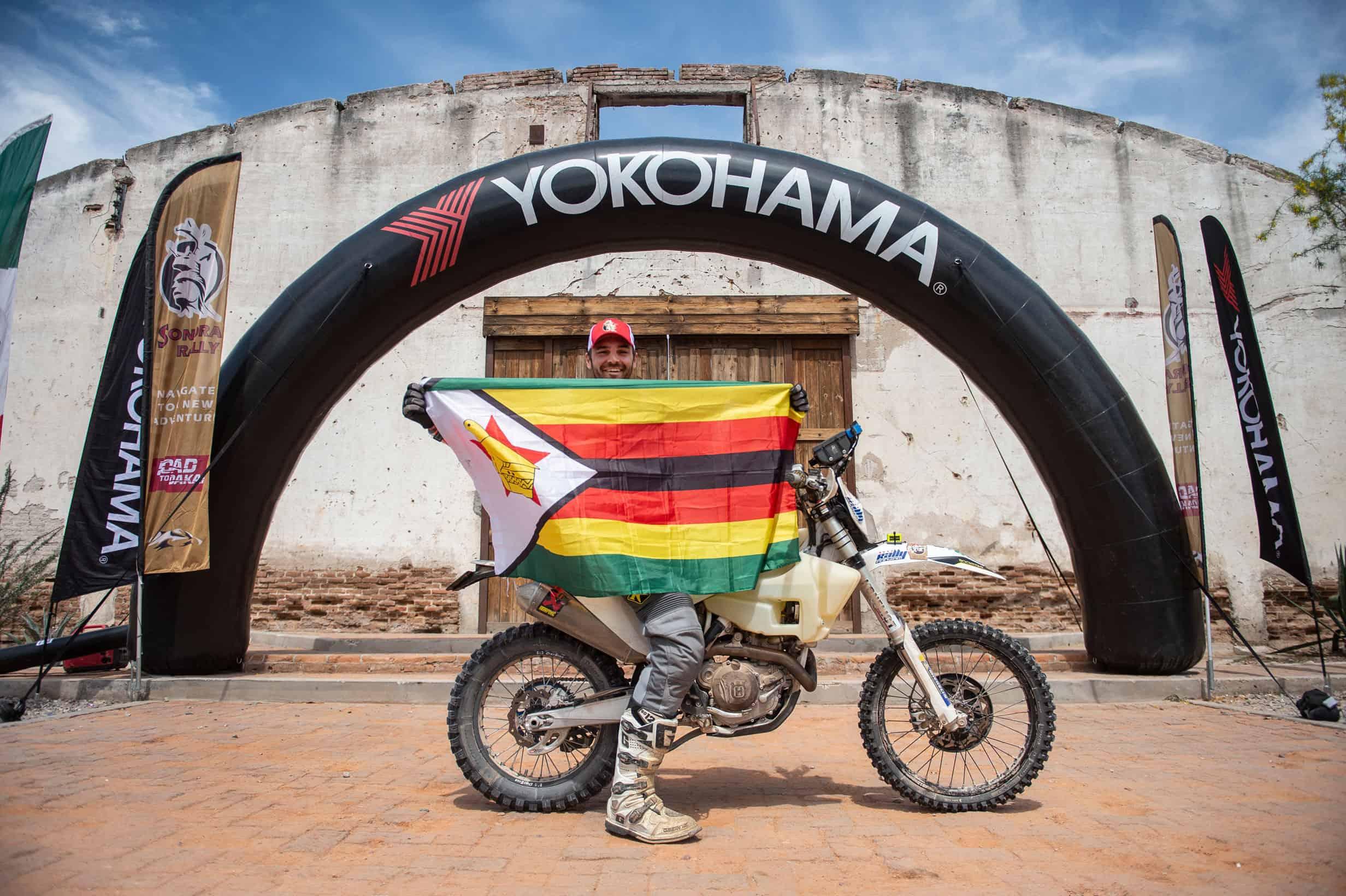 Greame Sharp Zimbabwe Dakar Rider